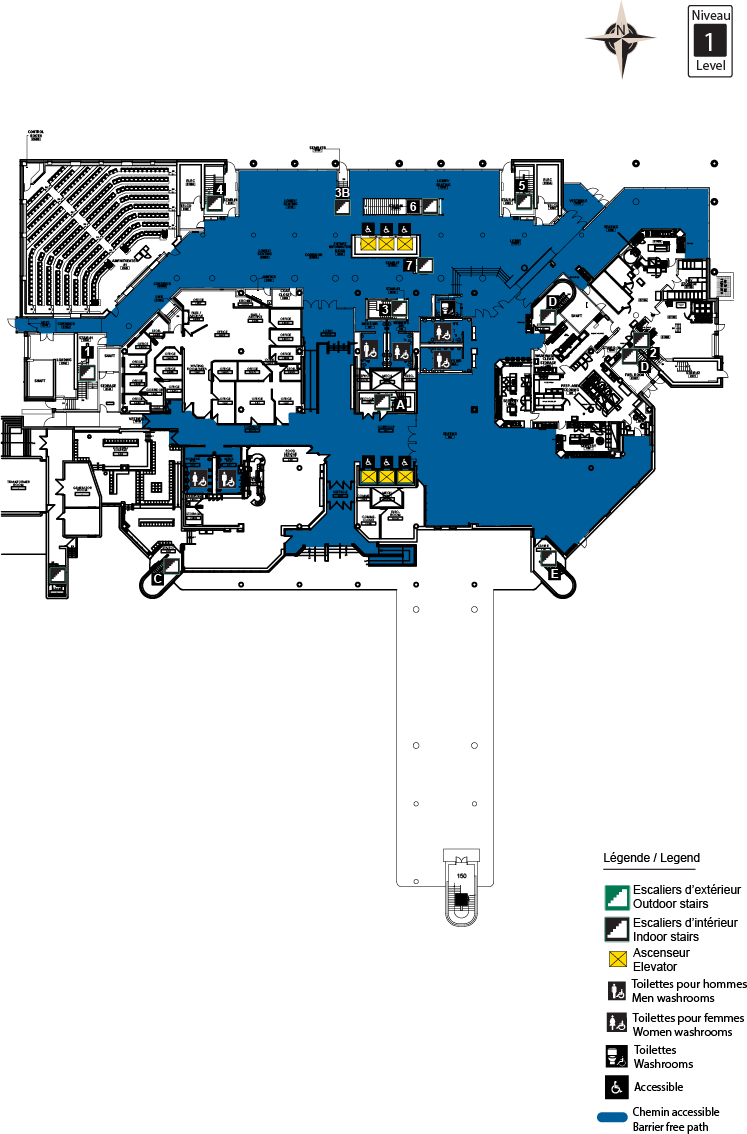 Accessible Map - CRX level 1