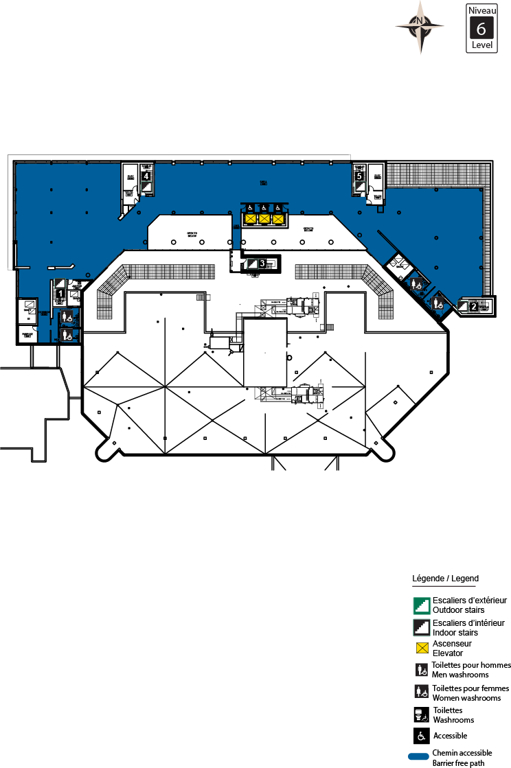 Accessible map - CRX level 6