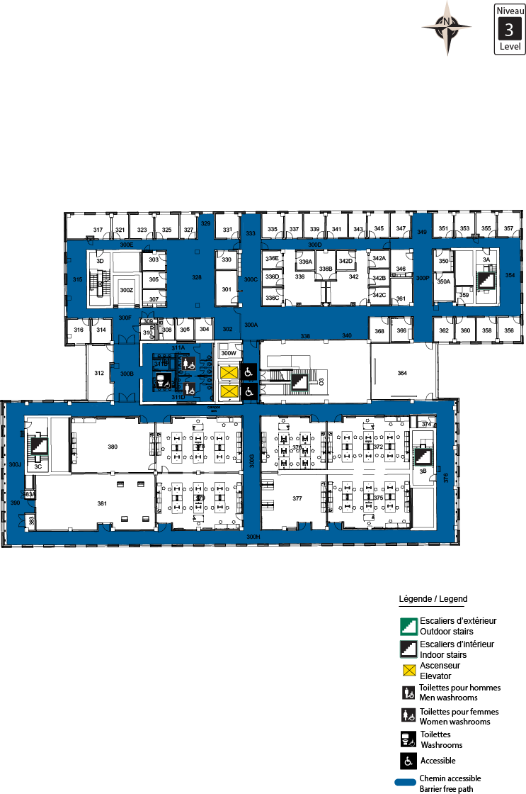 Accessible Map - STEM Level 3