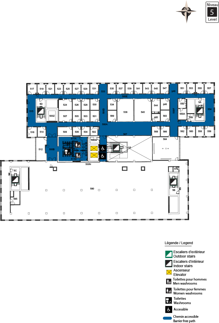 Accessible map - STEM Level 5