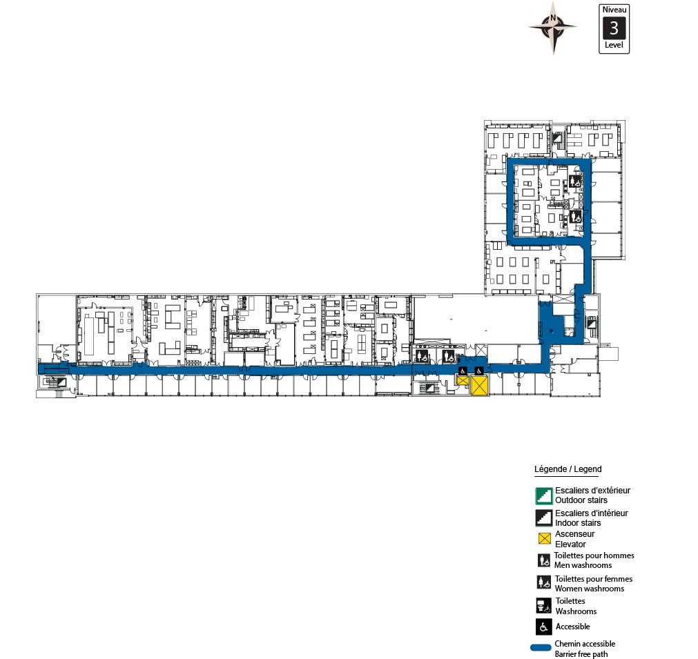 Accessible map - ARC Level 3
