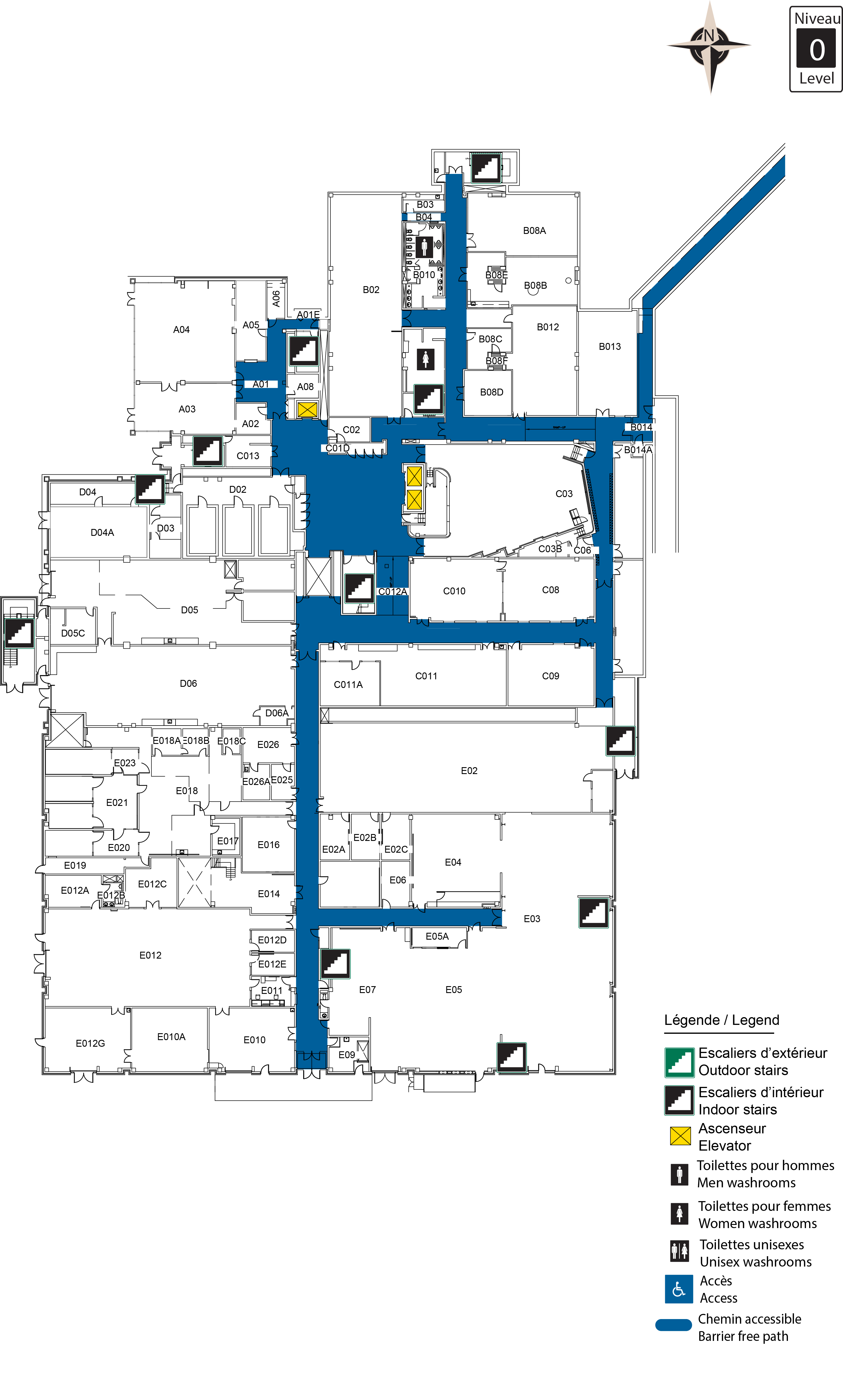 Accessible map - Cby 0