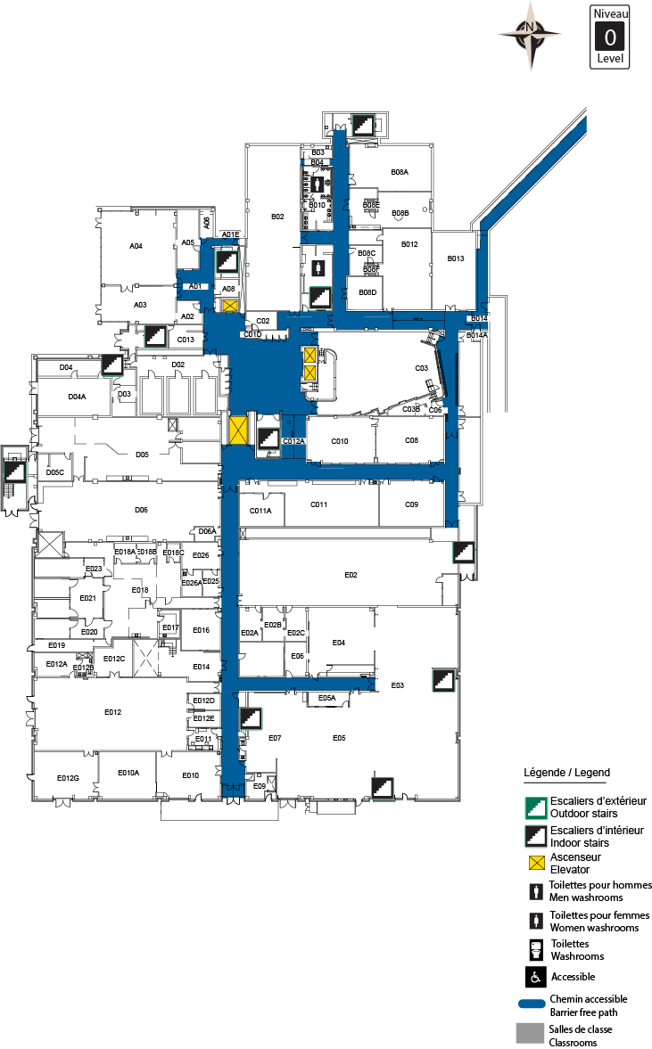 Accessible Map - CBY Level 0