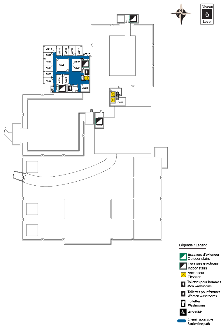 Accessible Map - CBY Level 6