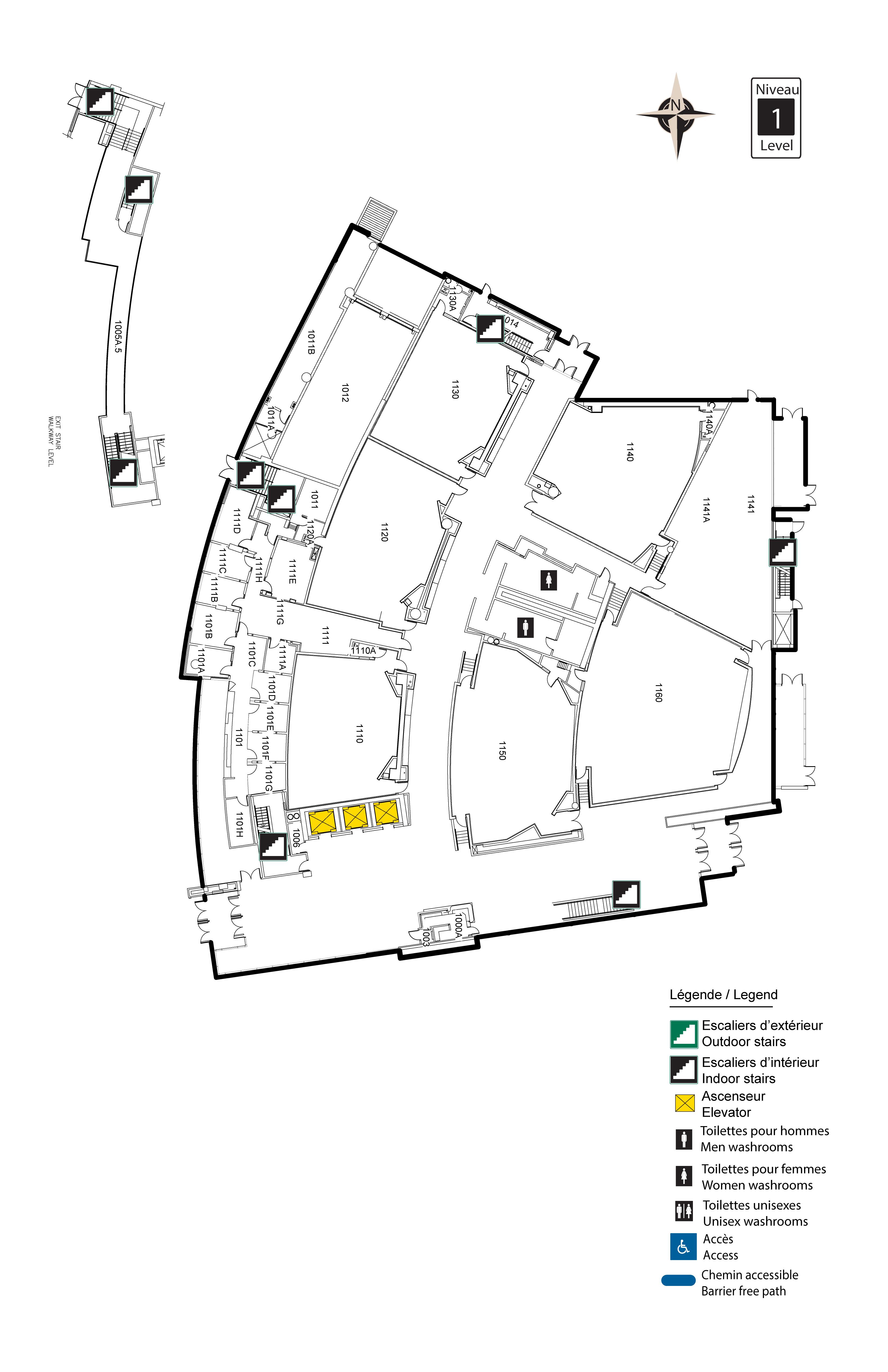 Accessible map - Desmarais 1