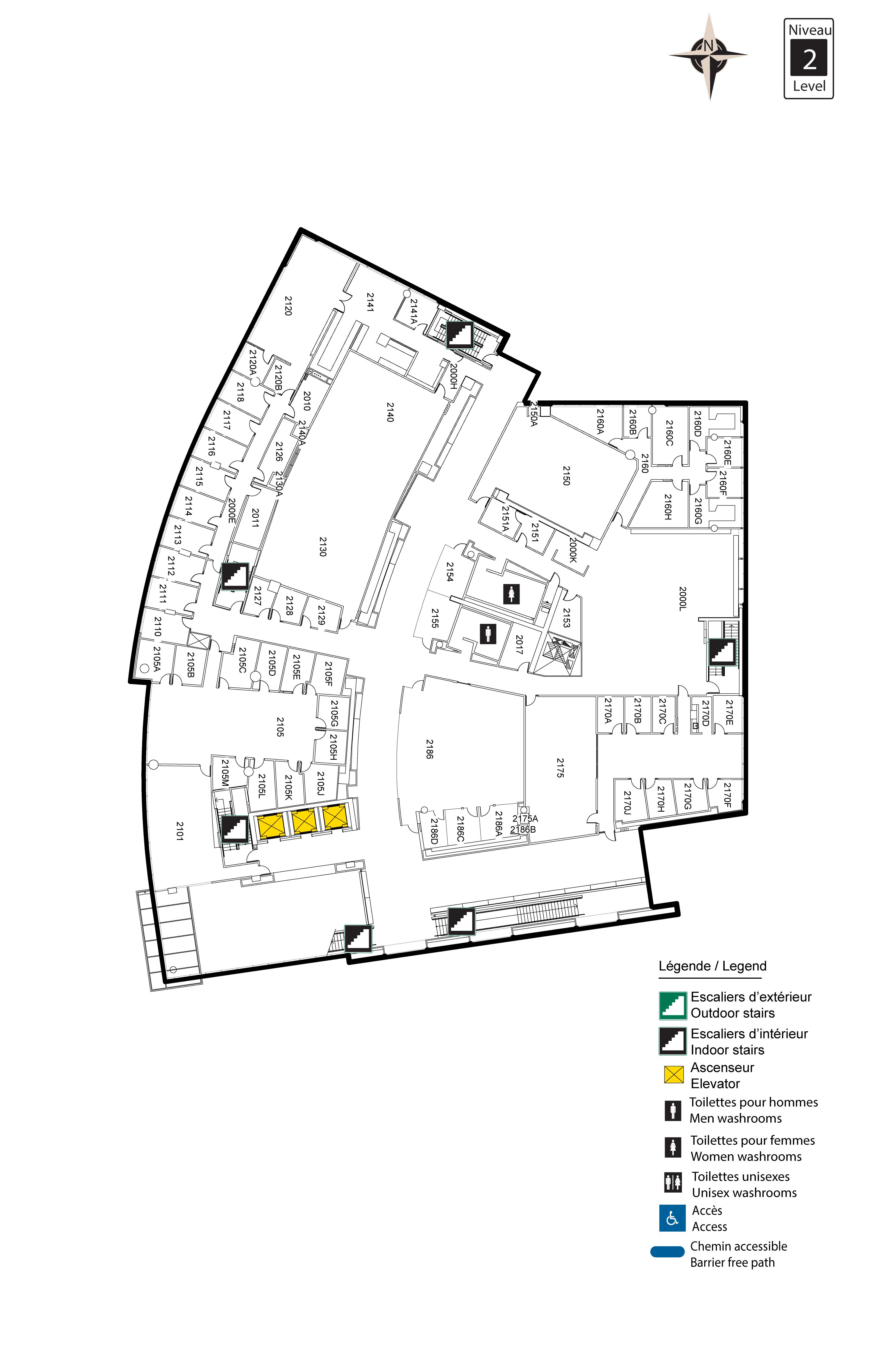 Accessible map - Desmarais 2