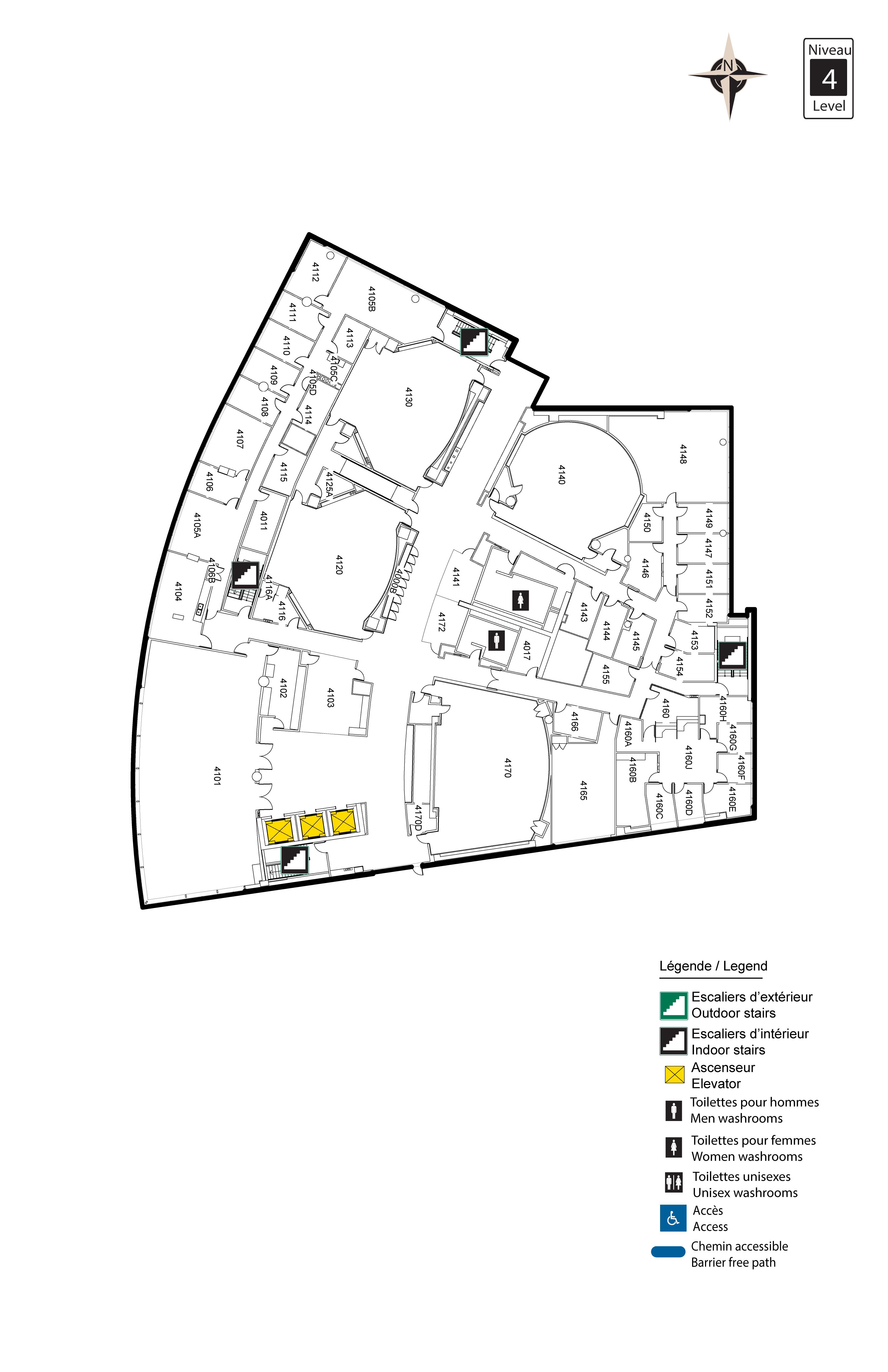 Accessible map - Desmarais 4