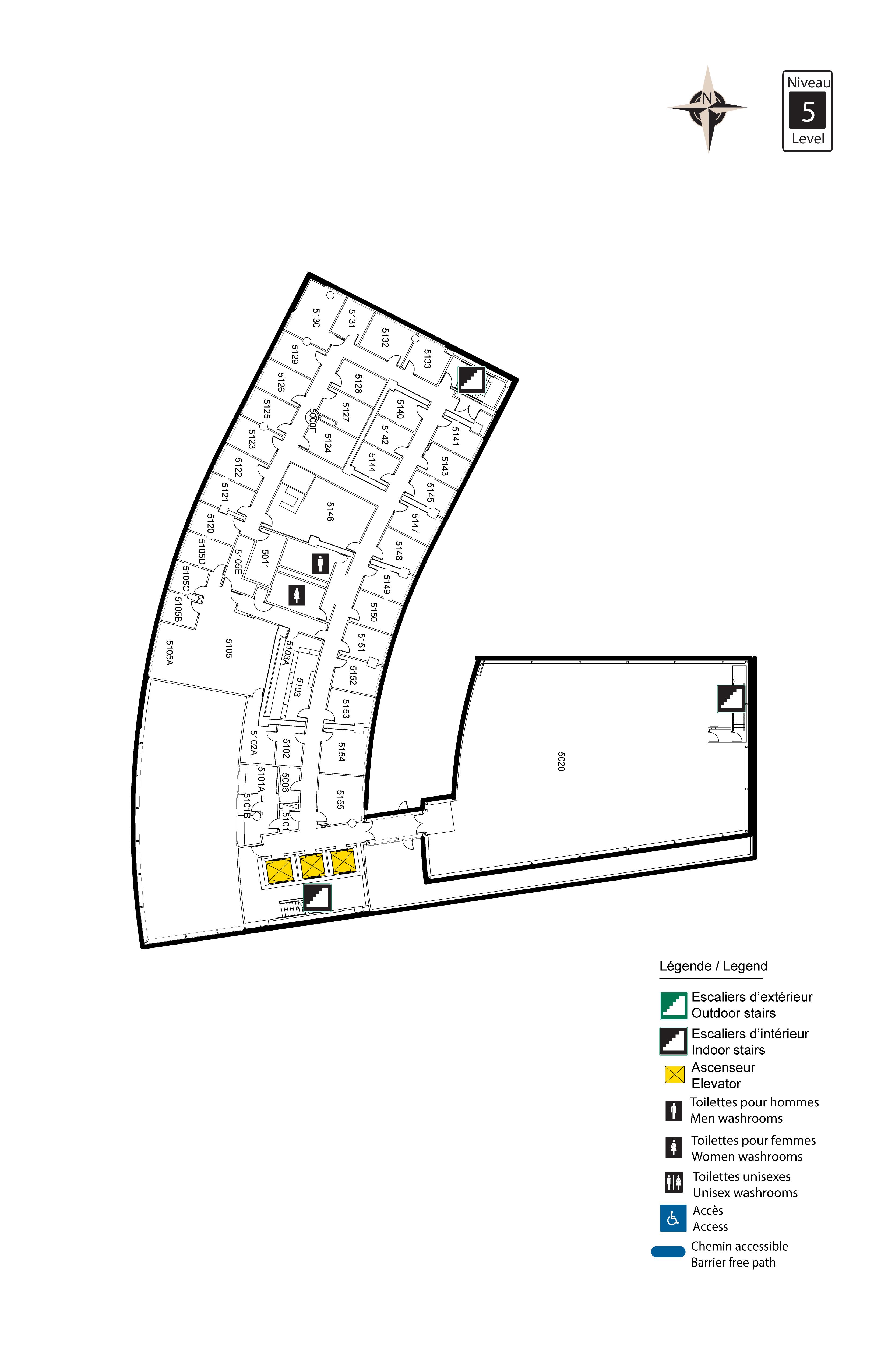 Accessible map - Desmarais 5