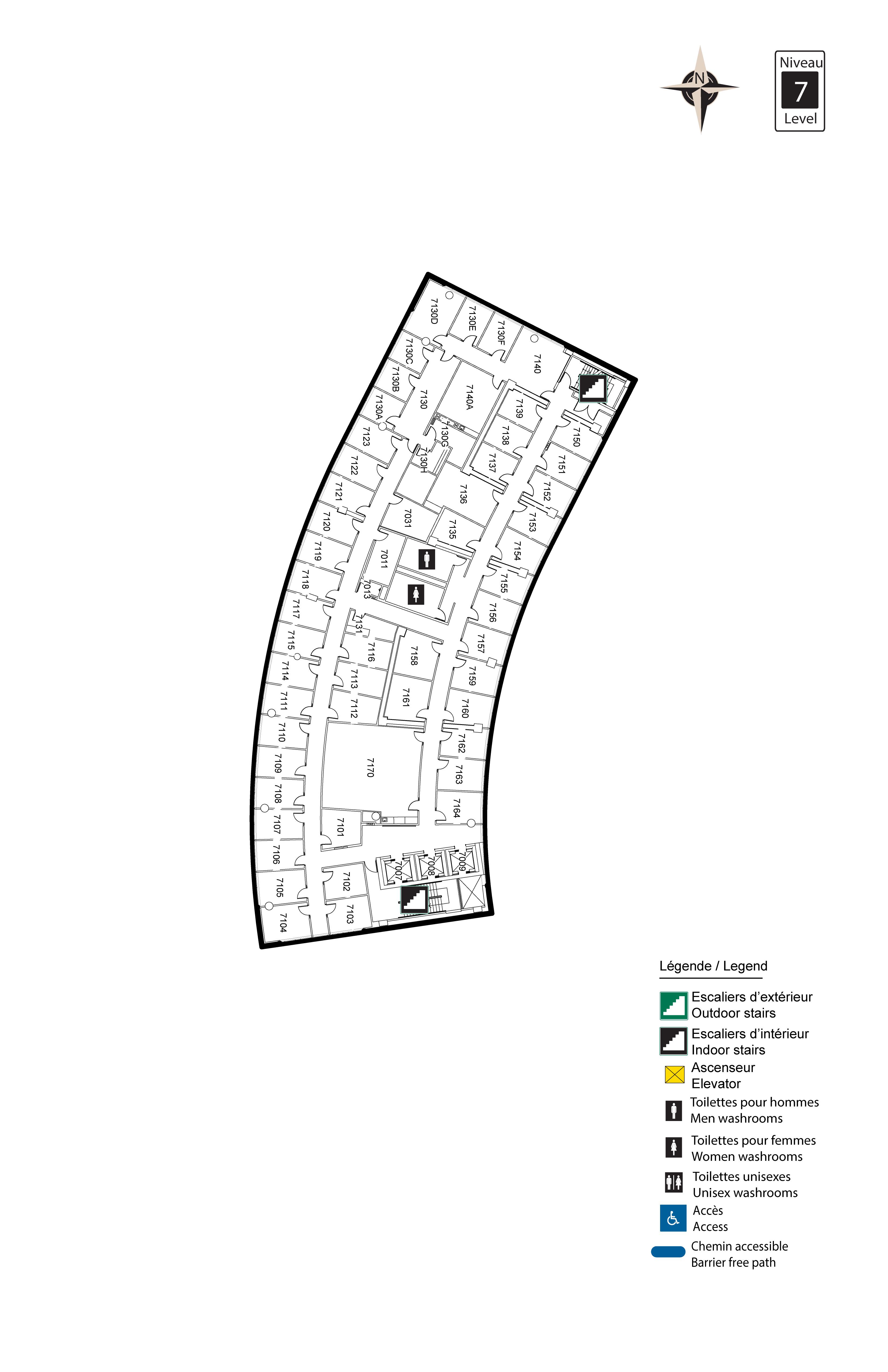 Accessible map - Desmarais 7