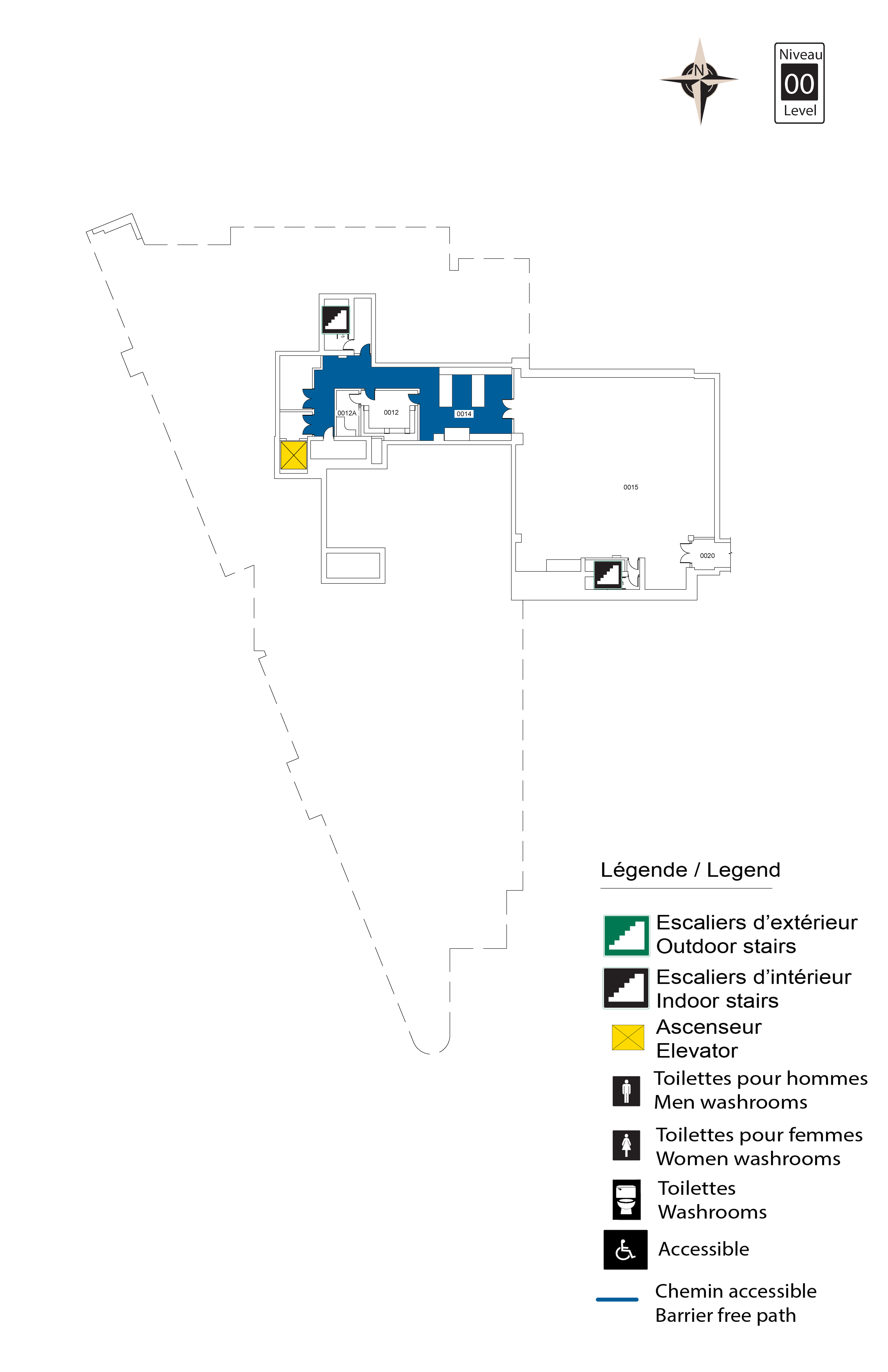 Accessible Map - FSS Level 00