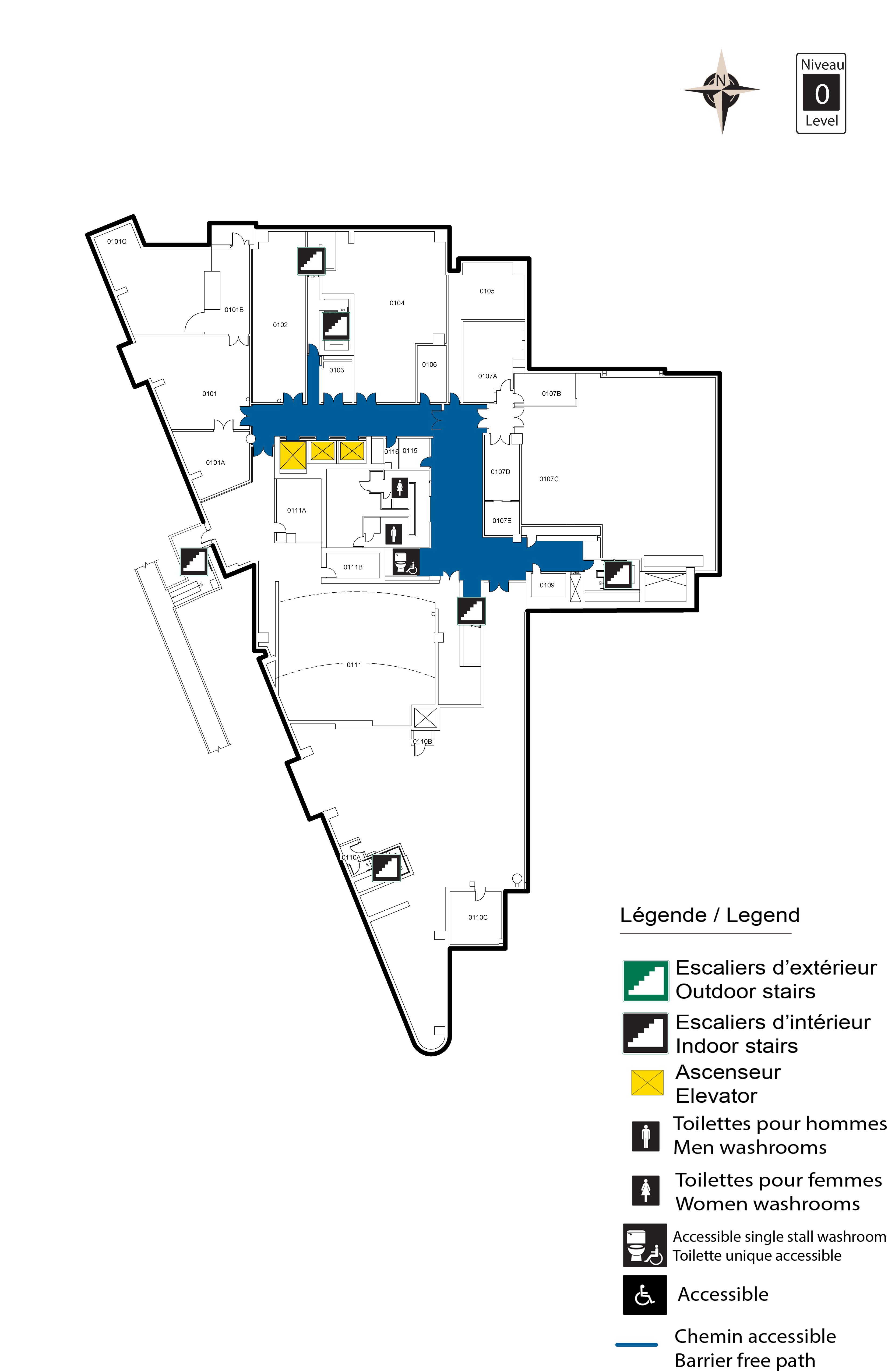 Accessible Map - FSS Level 0