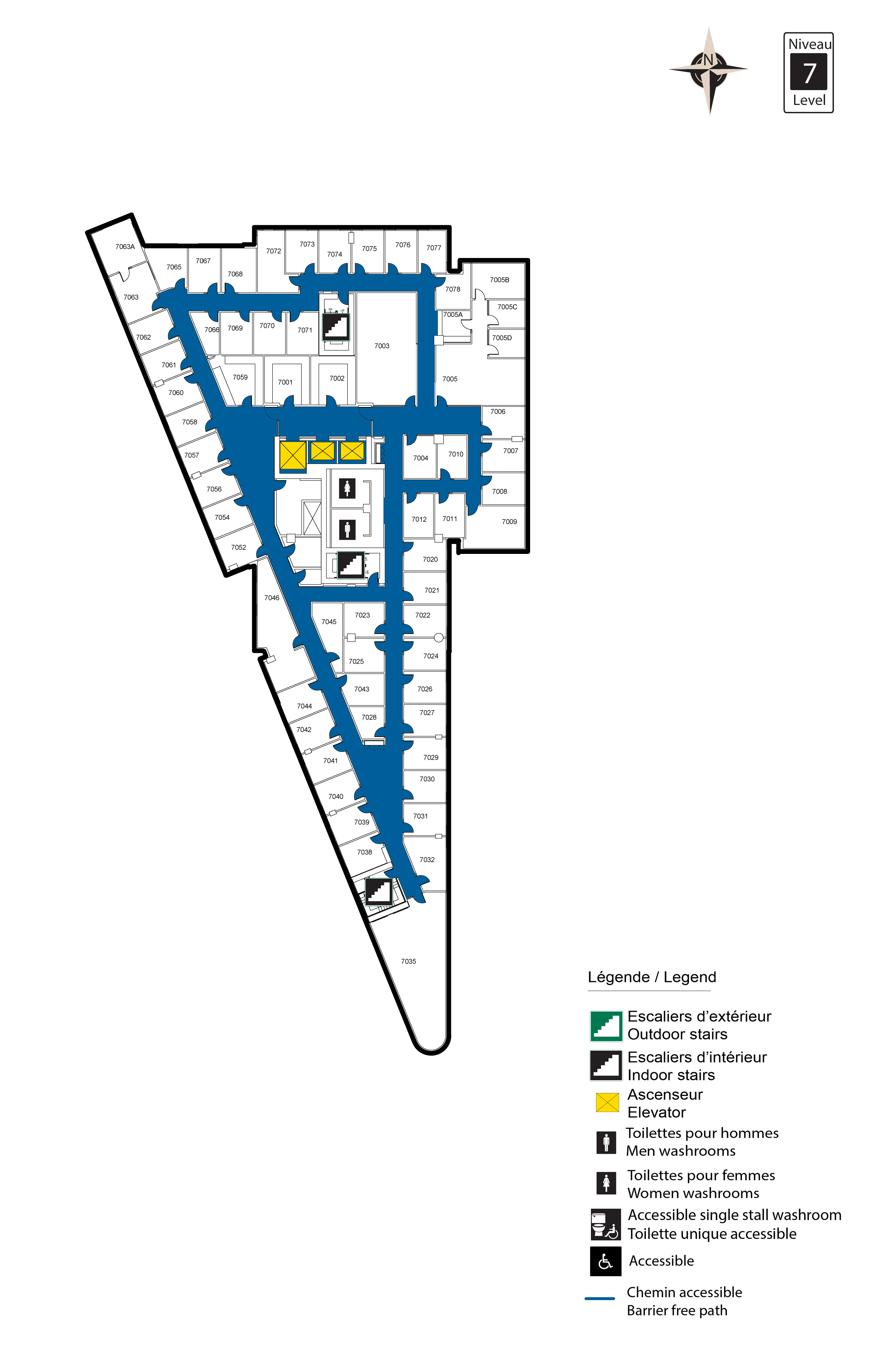 Accessible Map - FSS Level 7