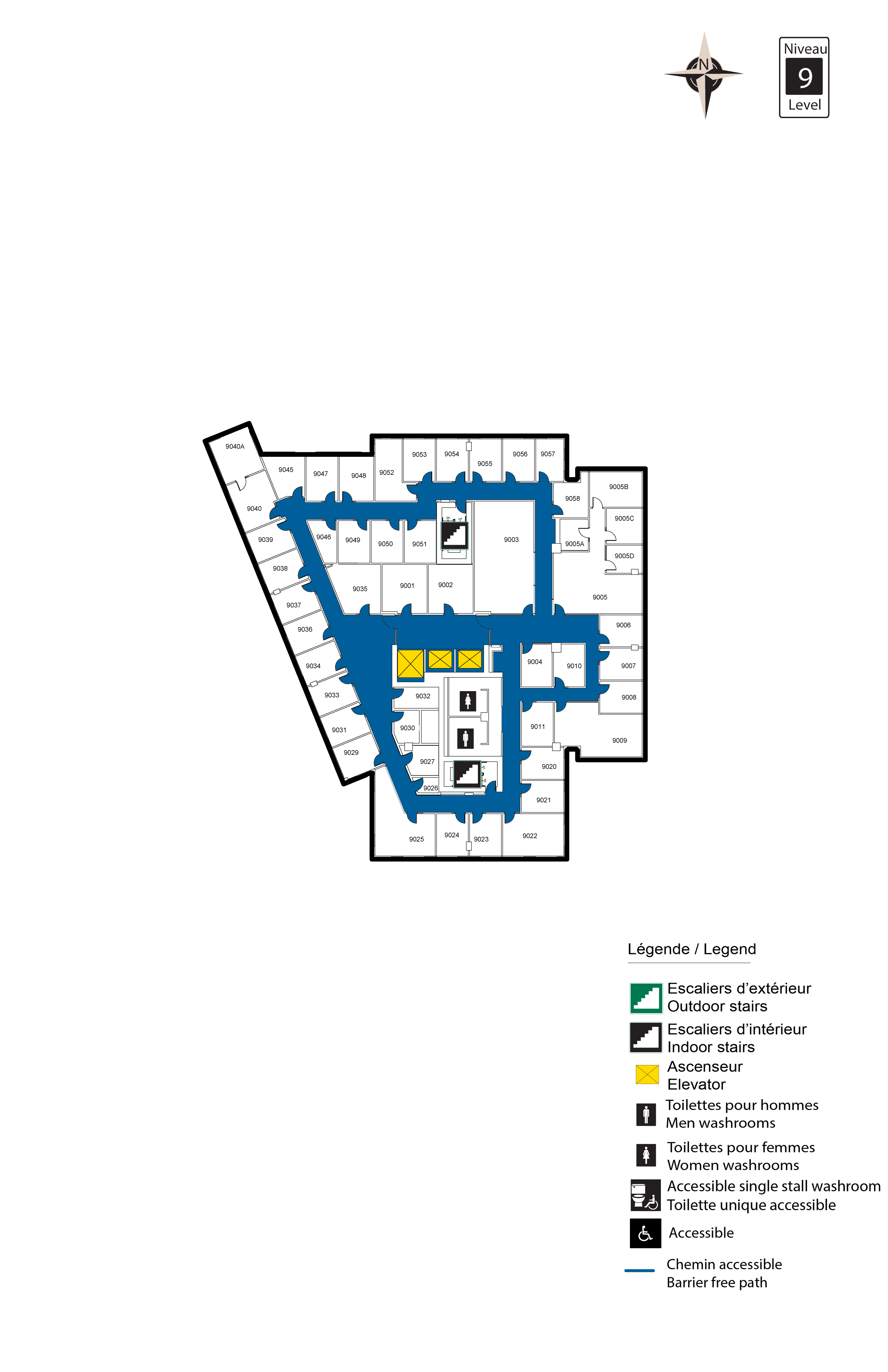 Accessible Map - FSS Level 9