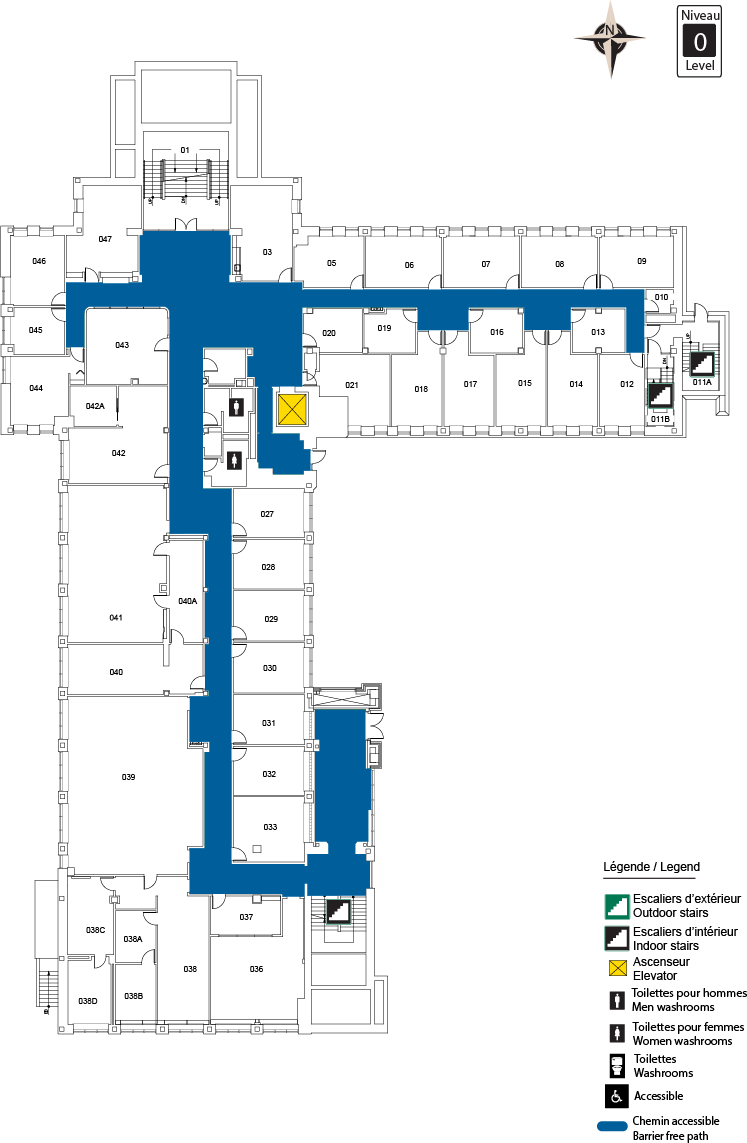 Accessible Map - SMD Level 0
