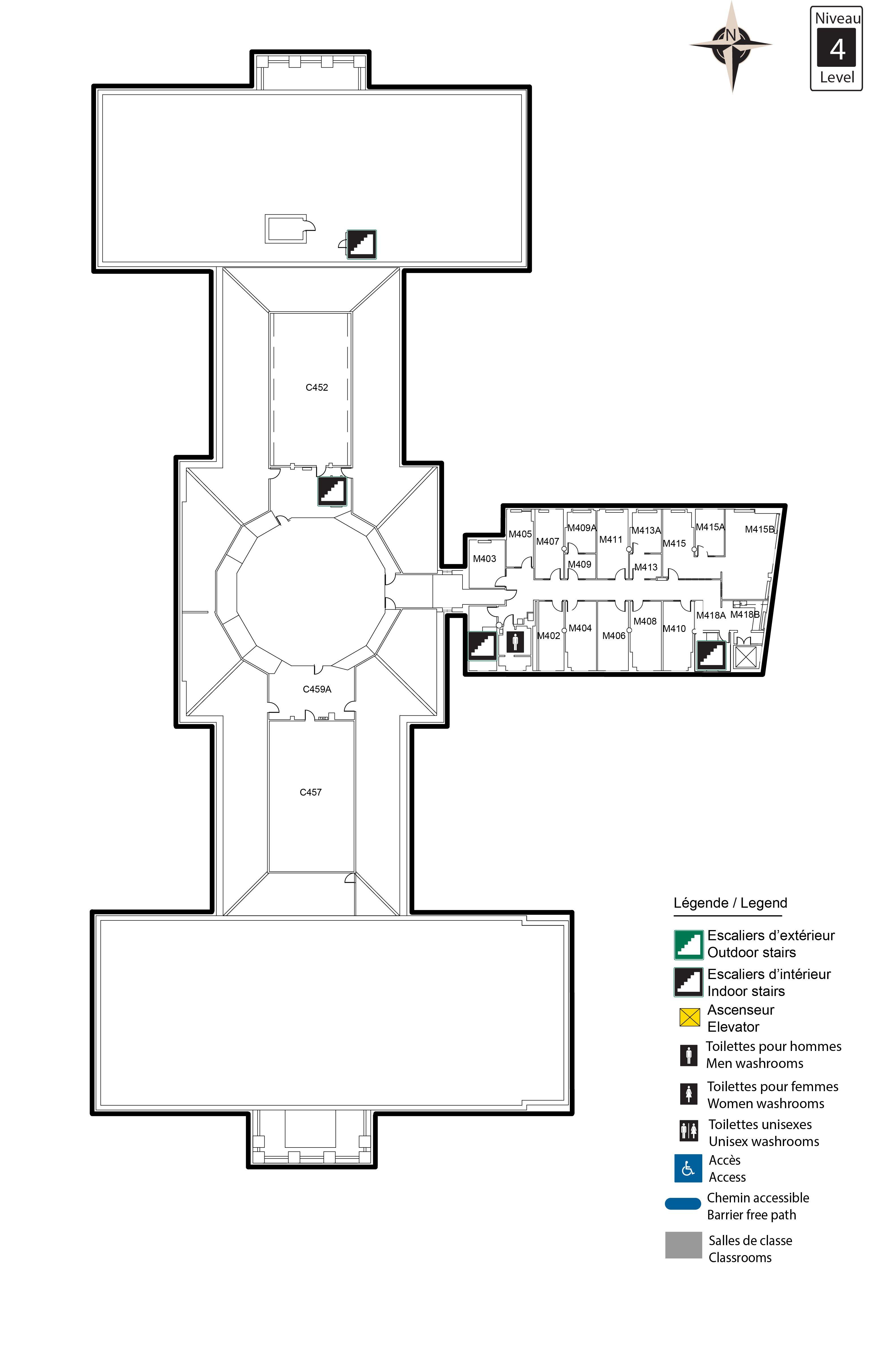 Accessible map - Tabaret 4