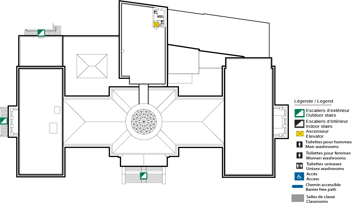 Accessible map - Tabaret 5